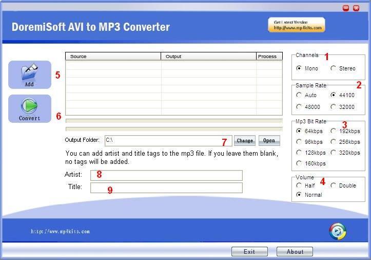 Скачать конвектор avi в mp3